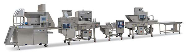 AMF600-IV Automatic Multi-function Food Forming Machine